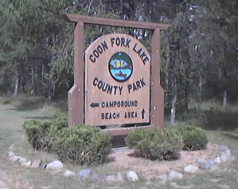 sign at entrance to park