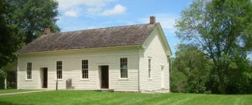 a Friends meetinghouse